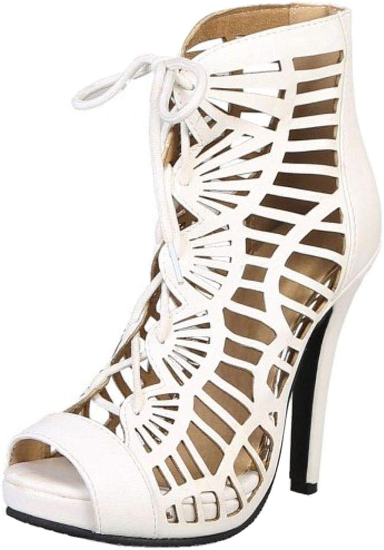 Luis Vuis Women Retro Summer Bootie shoes Stiletto Heels