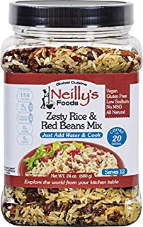 Neilly's, Rice Beans Mix Zesty Red Kidney, 24 Ounce