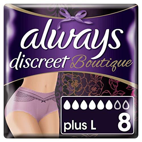 Always Discreet Shop Windelhosen für Blasenschwäche Größe M, 8 stück