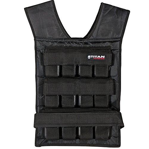 Titan Adjustable Weighted Vest 60 LB