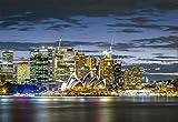 Educa Borrás - Puzzle Ciudad de Sydney en el Crepúsculo, 1000 Piezas (17106)