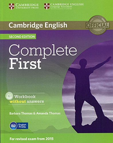 Complete First Workbook without Answers with Audio CD Second Edition