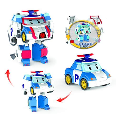 Ouaps - Robocar Poli-Véhicule Transformable Poli Action Pack Space
