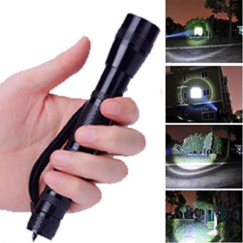 CREE Orange schälen Aluminium Reflektor Xmansky XPE-R3 LED 1200 Lumen Lampenclip Penlight Taschenlampe AA
