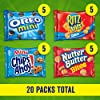 Nabisco Classic Mix Variety Pack, OREO Mini, CHIPS AHOY! Mini, Nutter Butter Bites, RITZ Bits Cheese, 20 - 1 oz Snack Packs #1