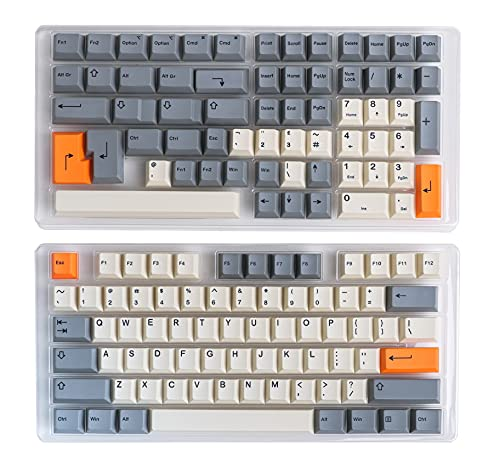 HK Gaming Farbsublimationstastenkappen   Cherry Profil   Dicke PBT Keysets für mechanische Tastatur (139 Keys, Beta)