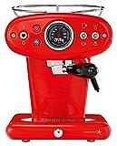 illy Metodo 60249 Kapselmaschine, Rostfreier Stahl, Rot