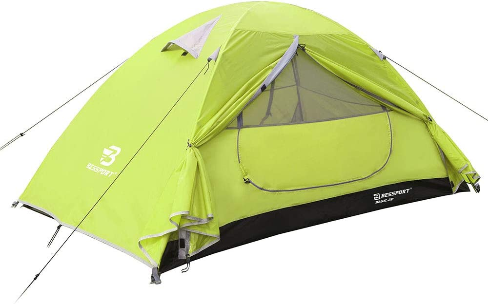 Bessport Camping 2021 spring and summer new Tent 2 3 Waterproof Two 2021new shipping free 4 Doors Person