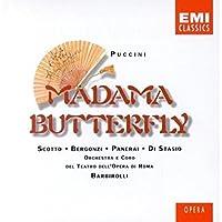 Puccini - Madama Butterfly / Scotto, Bergonzi, Panerai, Di Stasio, Opera di Roma, Barbirolli by Silvana Padoan (1990-10-25)