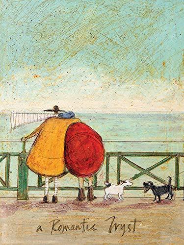 Sam Toft Drucken, Mehrfarbig, 30 x 40 cm