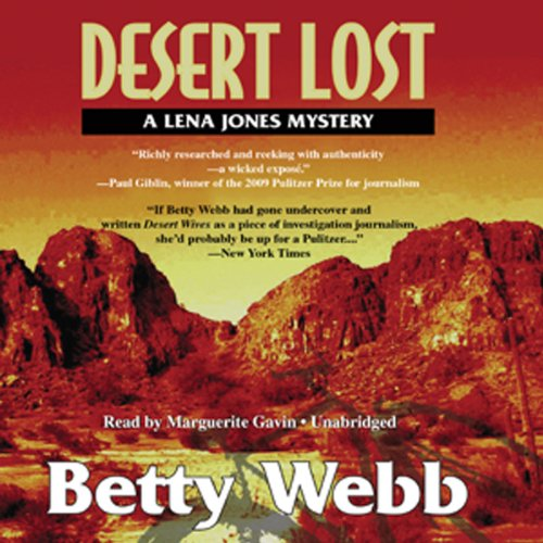 Desert Lost audiobook cover art