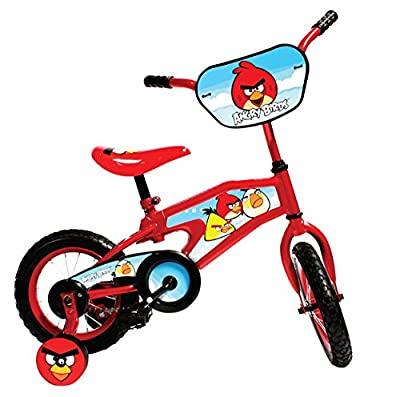 Angry Birds Kid's Bike, 12 inch Wheels, 8 inch Frame, for Boys and Girls, Red