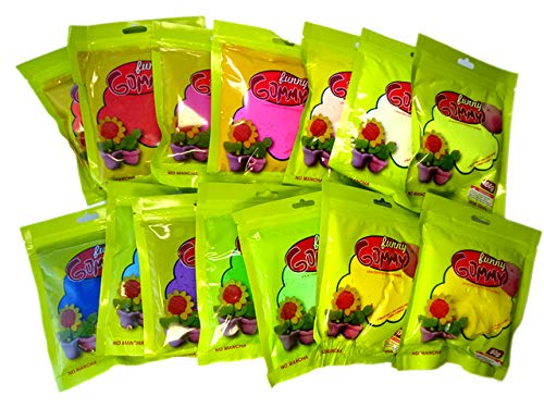 COOLMP – 1 Pta de modelar Soft Funny Gummy 60 g, colores surtidos