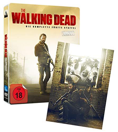 The Walking Dead - Staffel 5 (Limited Steelbook mit Lenticular) [Blu-ray]