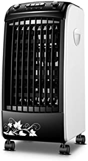 Para interior Oficina doméstica Humidificador de dormitorio con 3 velocidades Enfriador de aire sin cuchilla 2 Caja de hielo Enfriador evaporativo Ventilador de enfriamiento de aire portátil 3 en 1