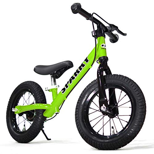 SPARKY ブレーキ付 ペダルなしキッズバイク SPARKY GREEN