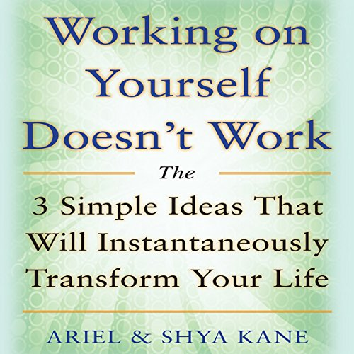 Working on Yourself Doesn't Work: The 3 Simple Ideas That Will Instantaneously Transform Your Life audiobook cover art
