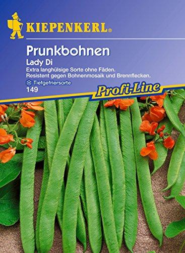 Sperli Gemüsesamen Prunkbohnen Lady Di, grün