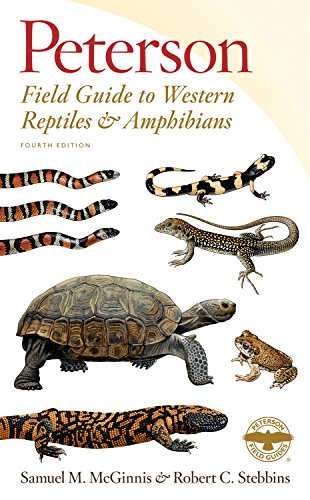 Peterson Field Guide to Western Reptiles & Amphibians, Fourth Edition (Peterson Field Guides)