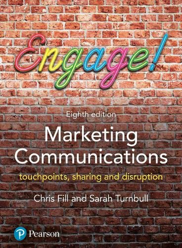Marketing Communications: Touchpoints, sharing and disruption