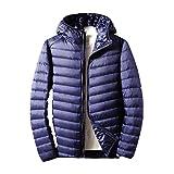 Piumino leggero uomo con cappuccio autunno e inverno nuovo cappotto giù uomo leggero piumino Giovane XXXL