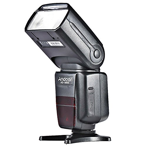 Andoer AD-980II i-TTL GN58 Flash Speedlite HSS 1/8000s Master Slave for Nikon D7200 D7100 D7000 D5200 D5100 D5000 D3000 D3100 D3200 D3300 Camera