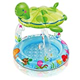 SYue Swimmingpool, transparenter ovaler Pool, Babypool, Pool, Geeignet für Gartenpartys , 102 * 107CM