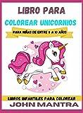 Libro para Colorear Unicornios: Para niñas de entre 8 a 10 años (Libros infantiles para colorear)
