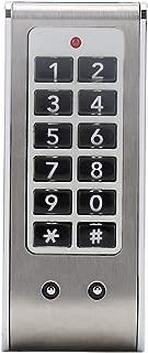 FTVOGUE Digital Keypad Code Lock Combination Cam Cabinet Silver Convenient Password Security Coded Lock