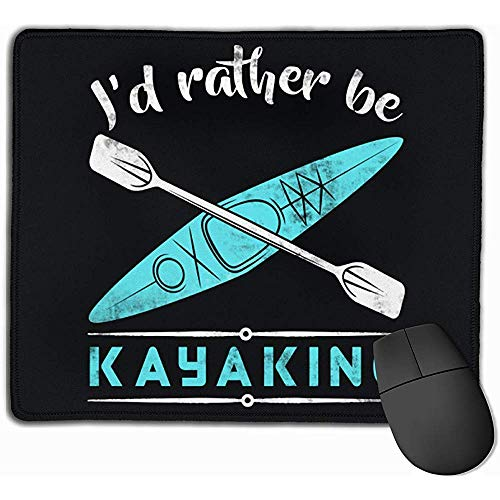 Gaming Mouse Pad I 'D Rater Kajak Rechteck rutschfeste Gummi Mousepad 25X30Cm