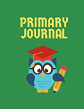 Primary Journal: Primary Story Journal Composition Book: Grade Level K-2 Draw and Write, Dotted Midline Creative Picture Notebook Early Childhood to Kindergarten