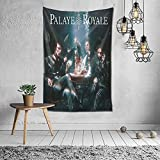 Xuanyang Palaye Royale Band Music Tour Lightweight Sweat Wall Tapestry Apestry Album 3D Wall Hanging Art Home Decor Wave Tapestries