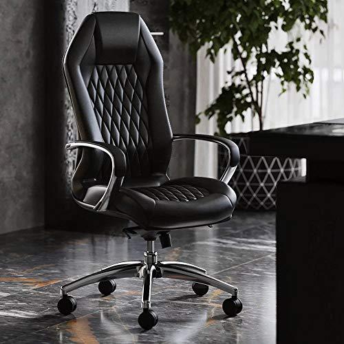 Modern Genuine Leather Executive Chair