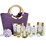 Spa Luxetique Lavender Spa Gift Baskets for Women, Premium 10pc Gift Baskets...