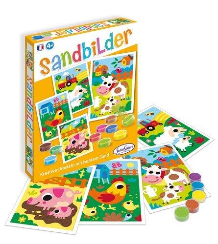Sablimage Sandbilder Bastelset für Kinder, Motiv