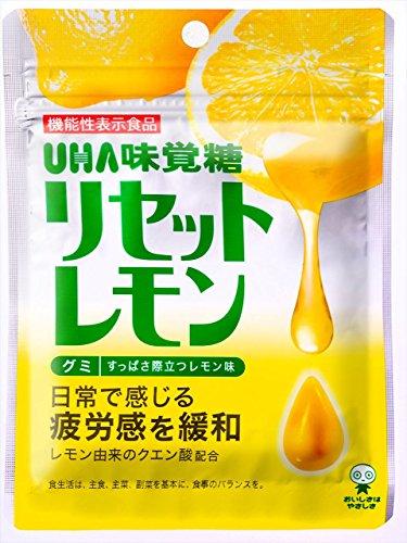 味覚糖 リセットレモン 50g×10袋