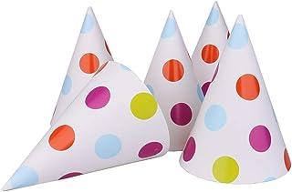 Kids Birthday Party Cone Hats, 12 pcs