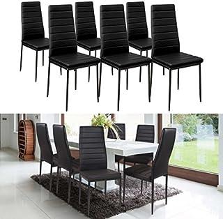 Amazon Fr Table Et Chaise Salle A Manger Noir