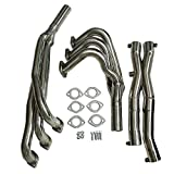 Stainless Racing Manifold Header/Exhaust+Y Pipe, Compatible With BMW E30 3-SERIES 2.5/2.7L I6