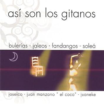 Fiesta Gitana 5: Así Son los Gitanos (Bulerías, Jaleos, Fandangos y Soleás)