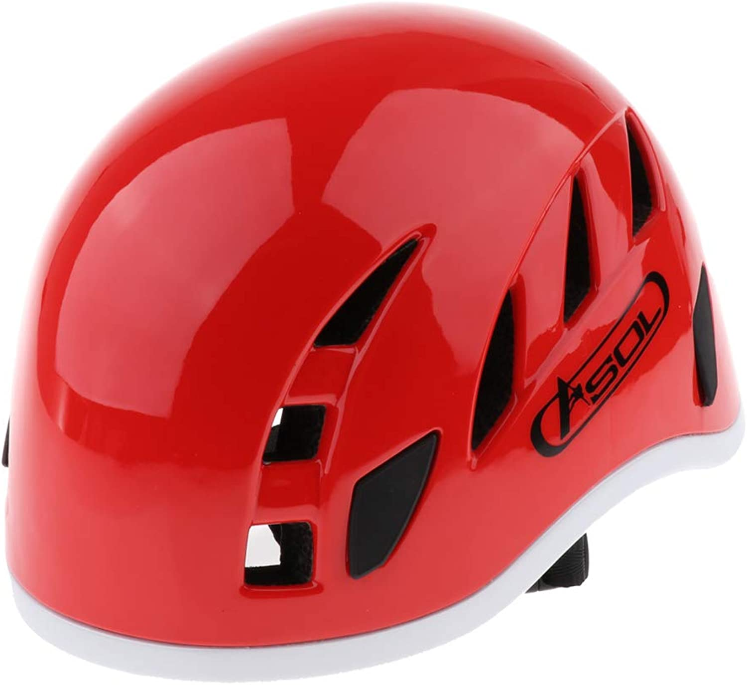 Baoblaze Rescue Hard Hat Work at Height, Rock Climbing Helmet, Adjutable and Ventilated