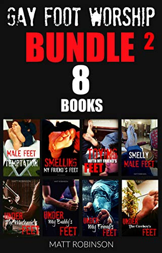 GAY FOOT WORSHIP BUNDLE N° 2: Male Feet Short Stories Collection (English Edition)
