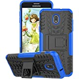 GSDCB Case for Samsung Galaxy J7 Case 2018, Galaxy J7 Refine Case, Galaxy J7V / J7 V Case 2018 (2nd Gen), Galaxy J7 Star Case, J7 Top, J7 Aura, J7 Aero, J7 Crown, J7 Eon, Phone Kickstand Case (Blue)