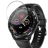 Vaxson 3 Stück 9H Panzerglasfolie, kompatibel mit CanMixs zl05 smartwatch Smart Watch, Panzerglas Schutzfolie Displayschutzfolie [NICHT Hülle Case ]