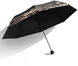 Household Umbrellas Sun Protection UV Umbrellas Ultra Lightweight Shoes Folding Umbrellas Two Eye Colors are Available LJJOZ (Color : A)