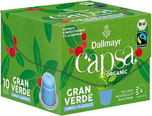 Dallmayr Capsa Gran Verde Lungo Classico, 56 g