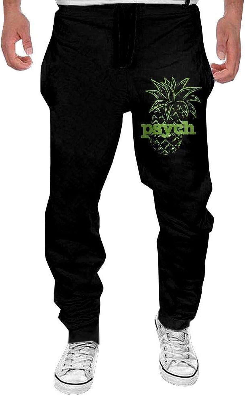 Lalae-ltd Men's Men's Men's Cool Sweatpants Print Psych Pineapple