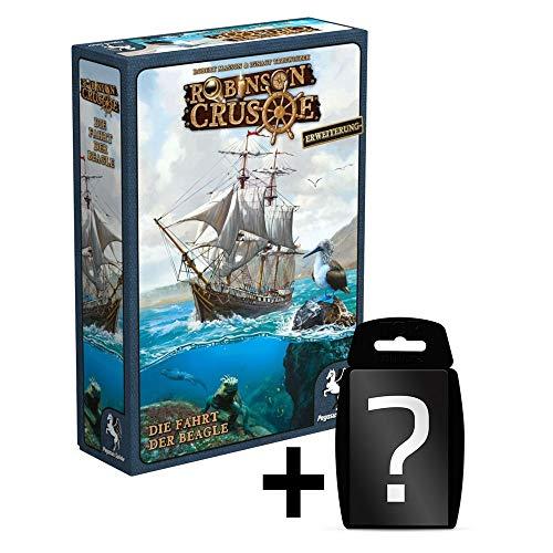 Robinson Crusoe: Die Fahrt der Beagle - Erweiterung | DEUTSCH | Abenteuer-Spiel Kooperativ | Set inkl. Kartenspiel