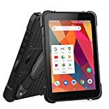 LOSRECAL Rugged Tablet Android 8.1, Zebra 2D Android Barcode Scanner 8 Inch Industrial Tablet MIL-STD-810G IP67 WiFi NFC 4G GPS BT 8500mAh Android Tablet for Warehouse Management Mobile Work