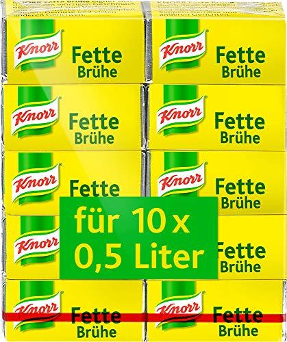Knorr Fette Brühe Würfel, 100 g
